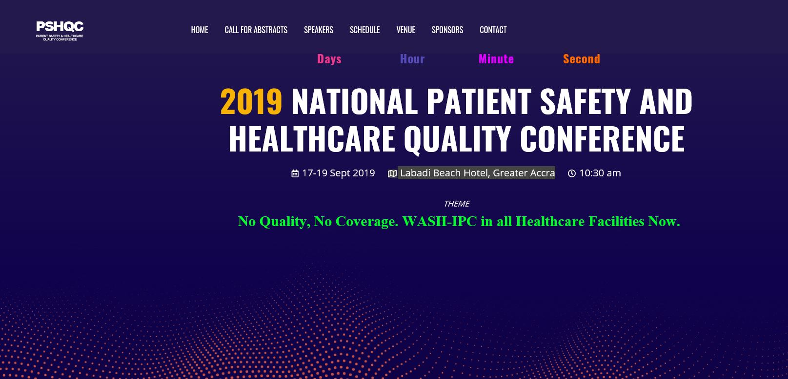 2019 National Patient Safety and Healthcare Quality Conference