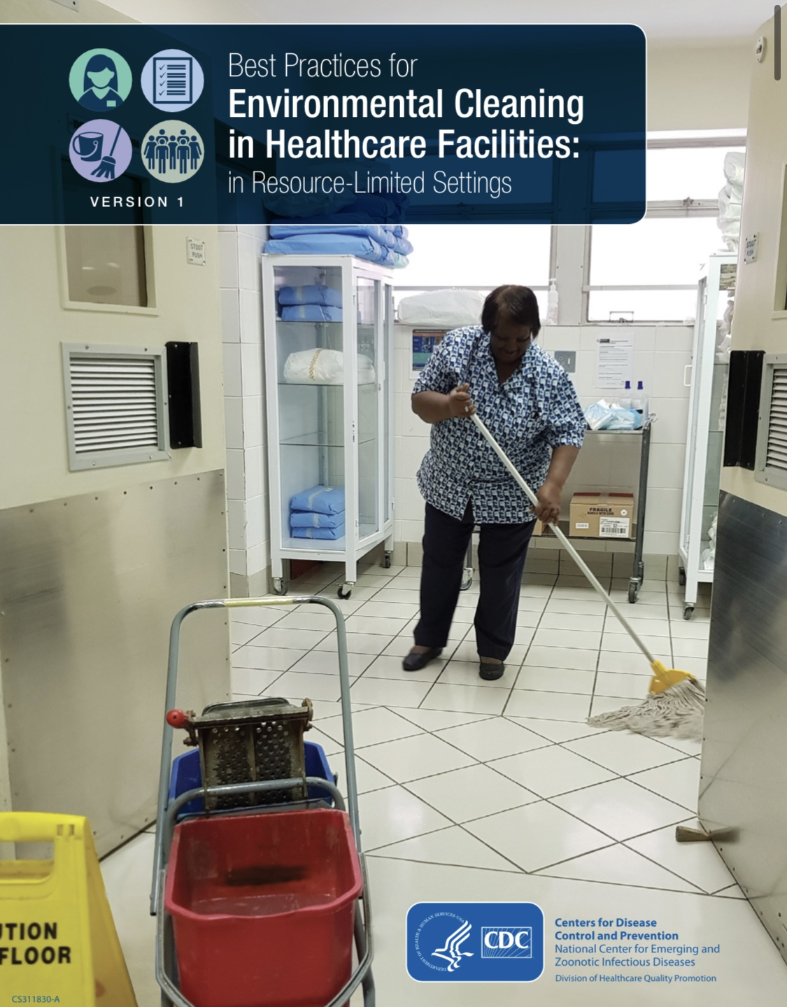 Best Practices for Environmental Cleaning in Healthcare Facilities
