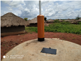 Constructed by Amref at Labongogali HCIII