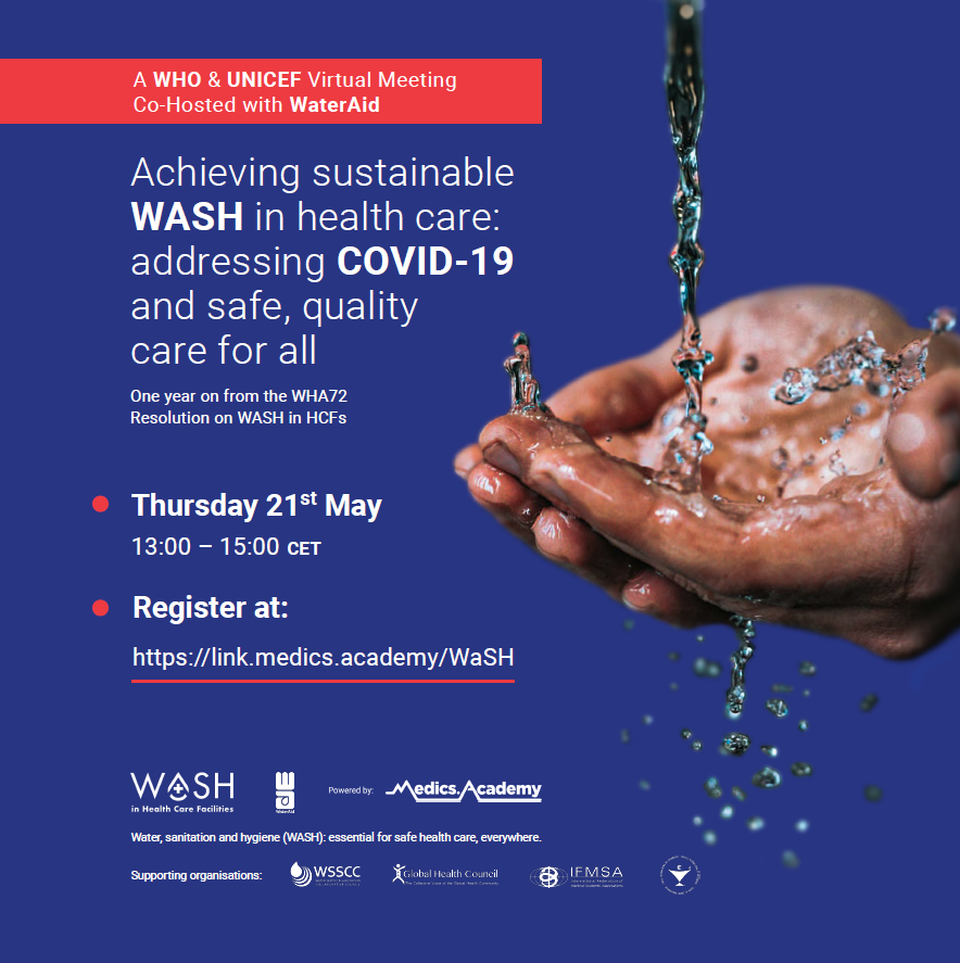 Achieving sustainable WASH in health care