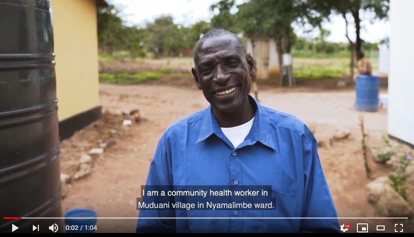 A community health worker in Muduani village in Nyamalimbe ward